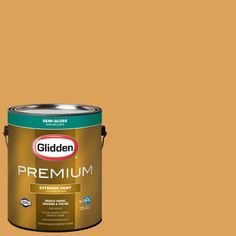 Glidden Premium 1-gal. #HDGO60D Gingerglow Semi-Gloss Latex Exterior Paint
