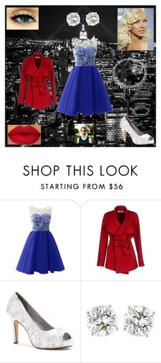 """Prom Dress: Steve Rogers"" by chesney-kuper ❤ liked on Polyvore featuring BGN and Dyeables"