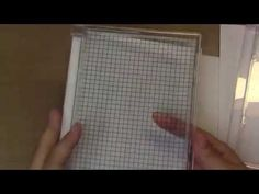 Stampin' Up! Giggle Greetings Card Plus DIY Stamp Positioning Tool New Distress Ink Colors - YouTube