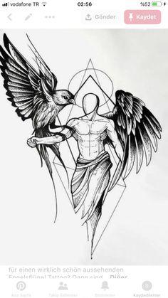 1 idées pour un beau tatouage avec des ailes d'ange que vous pouvez vraiment apprécier ▷ 1001 + Ideen für einen schönen Engelsflügel Tattoo, die Ihnen sehr gut gefallen können – - Magazine De Défilé De Mode Trendy Tattoos, Tattoos For Guys, Cool Tattoos, Tribal Tattoos, Men Tattoos, Maori Tattoos, Black Angel Wings, Black Angels, Tattoo Arm Designs