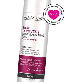Best Toner No. 1: Paula's Choice Skin Recovery Enriched Calming Toner, $20