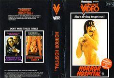 Horror Hospital (Cover VHS)
