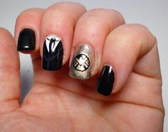 agents of shield nail art - Visit to grab an amazing super hero shirt now on sale!