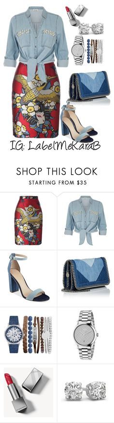 """""""KB020"""" by labelmekarab on Polyvore featuring Dsquared2, ZAK, GUESS, STELLA McCARTNEY, Jessica Carlyle, Gucci and Burberry"""