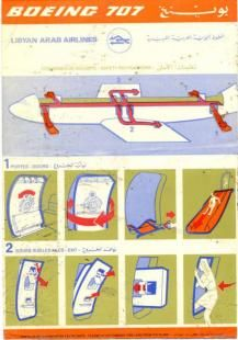 Boeing 707 Safety Cards - Boeing 707 Safety Card - Boeing 707 Safetycards - Boeing 707 Safetycard - my-safetycard. Safety Pictures, Boeing 707, Safety Instructions, Air Photo, Aeroplanes, Over The Years, Aviation, Jet, Aircraft
