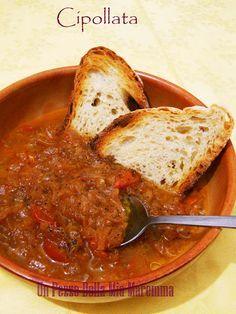 Ecco la Cipollata, e con questa siamo a 3 zuppe di cipolla, e due sono fiorentine, questa e la carabaccia. La Cipollata viene fatta con la cipolla rossa vernina, questa cipolla viene coltivata nella zona tra San Casciano e Scandicci,…
