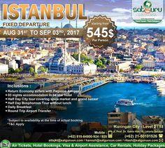 , 1 : Dapatkan kesempatan menarik ini untuk  berlibur berpetualang ke Istanbul bersama kami dengan penawaran istimewa dan paket yang terbaik sesuai pilihan anda. Pesan sekarang juga! -------------------------- Dapatkan juga diskon / voucher dan promo khusus di bulan ini. -------------------------- Hubungi kami atau kunjungi: Kuningan City - Level 2 / 18  Jl. Prof. Dr. Satrio Kav.18 Jakarta.  Check our bio for details.  IG: @satgurutravel.id  FB: fb.com/satgurutravelsid ☎ 021-50101526…