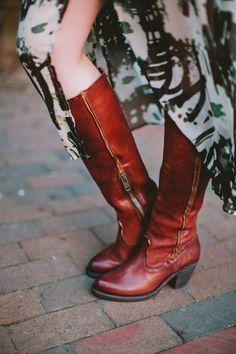 Leslie Tall Boots Frye... We love #frye