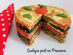 quelque part en Provence Provence, Omelettes, Snack Recipes, Snacks, Saveur, Buffet, Pancakes, Sandwiches, Vegetarian