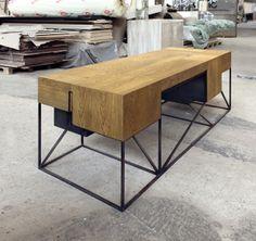 Desk Y03 by Hristo Stankushev, via Behance