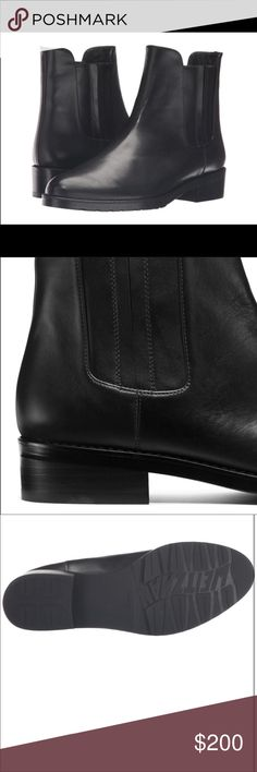 Stuart Weitzman Basilico Chelsea Boot Gently worn Stuart Weitzman Basilico Chelsea Boot. Reformation tagged for views. Reformation Shoes Ankle Boots & Booties