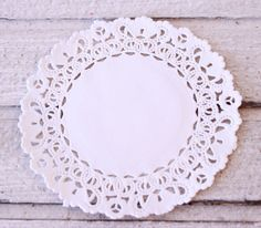 Doilies Bulk 100 Doilies Normandy Lace Paper by MailboxHappiness, $7.00