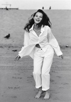 "Saatchi Art Artist Christoph Martin Schmid; Photography, ""Kate, Malibu Beach (II)"" #art"