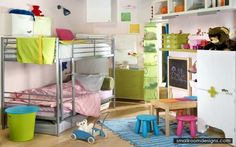 Great And Cute Little Ones Rooms Concepts - http://www.smallroomdesigns.com/small-home-decoration/great-and-cute-little-ones-rooms-concepts.html