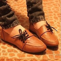 los zapatos de las mujeres de solaz planas zapatos mocasines de tacón más colores disponibles – USD $ 12.99