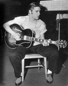 Elvis guitar man 1956 | Flickr - Photo Sharing!