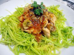 Blog da Tane: Espaguete de Abobrinha... MA-RA-VI-LHO-SO !!!