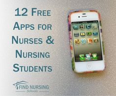 12 Free Apps for Nurses and Nursing Students .  I'm neither but good information is good information.