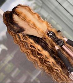 Hairstyles For Black Women .Hairstyles For Black Women Black Girl Braided Hairstyles, Baddie Hairstyles, Colored Weave Hairstyles, Hairstyles Videos, Hairstyle Men, Funky Hairstyles, Formal Hairstyles, Curly Hair Styles, Natural Hair Styles