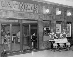 Janesville, Wisconsin history: UA Cinemas in the Janesville Mall, opened November 1973.