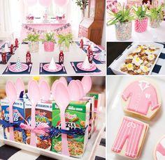 {Super cute} Preppy Pancakes & Pajamas Party! http://hwtm.me/PlUxuh :)