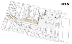 鈴木将記 / 鈴木将記建築設計事務所による、千葉・市川市の、集合住宅の住戸改修「引戸の家」 | architecturephoto.net