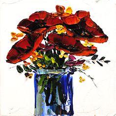 Poppy Bouquet, Maya, Poppies, Paintings, Gallery, Artwork, Ideas, Work Of Art, Paint