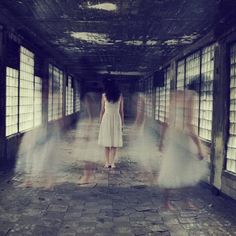 the_ghosts_of_all_my_sins_forgoteen_by_sarahannloreth Ghost Photography, Movement Photography, Mysterious Photography, Concept Photography, Narrative Photography, Photography Long Exposure, Surrealism Photography, Photography Projects, Fine Art Photography