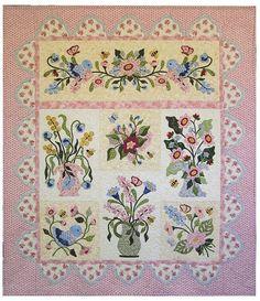 Fantasy Flowers Quilt