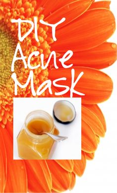 acne facial recipe - exfoliates, moisturizes and promotes healing, what's not to love?!