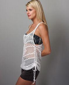 Ideas para el hogar: Tùnicas boleros y blusas en crochet