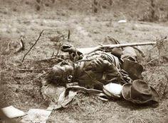 Dead Soldier from the Battle of Spotsylvania