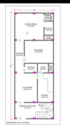 House Plans - Vastu for West Facing House Plan, , 2bhk House Plan, Narrow House Plans, 3d House Plans, Indian House Plans, Simple House Plans, Model House Plan, House Layout Plans, Duplex House Plans, Home Map Design
