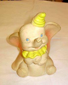 Vintage Dumbo Rubber Squeeze Toy 1950's Disney   eBay
