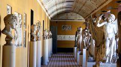 The Thorvaldsens Museum in Copenhagen is a single-artist gallery with the sculptures of the Danish classic sculptor Bertel Thorvaldsen.