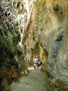 Rio Chillar Flusswanderung bei Nerja