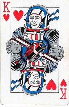Rockwell International - Playing cards King of hearts - a photo on ...