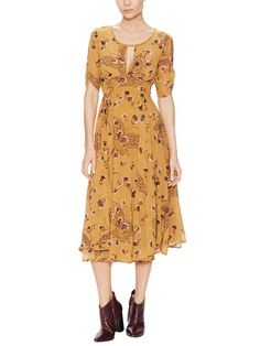 Bonnie Floral Maxi Dress by Free People at Gilt