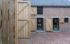 """Lensass Arch.: House DM (""""Rabbit Hole""""), Gaasbeek (NL), 2012. www.archdaily.com/237163/house-dm-lensass-architects/"""