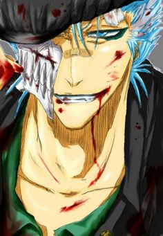 Grimmjow. <3 idk why but u love this picture
