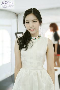 Name: Naeun Son Member of: APink Birthdate: 10.02.1994