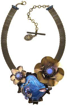 Konplott Halskette In Honor of the Rose blau 5450543228617