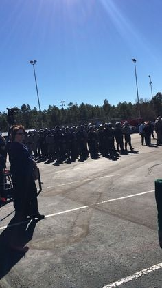 Funeral of officer Darrin Reed Show Low, AZ killed in the line of duty 11/8/16