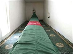 Grave of Prophet Saleh (AS).