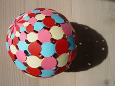 Woven Paper Sphere