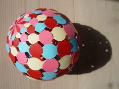 paper weaving - sphere shape