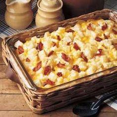 cheesy potato ham casserole.. my husband would love this