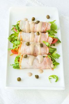 vitello tonnato rolletjes