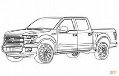 Image Result For Truck Coloring Page