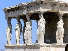 Olympia, Greece.  The sacred rock
